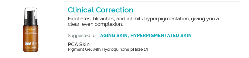 Clinical Correction - PCA Skin Pigment Gel