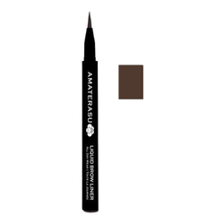 Amaterasu - Geisha Ink Liquid Brow Liner - Brunette, 0.6ml/0.02 fl oz