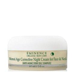 Eminence Organics Monoi Age Corrective Night Cream For Face and Neck, 60ml/2 fl oz