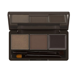 MISSHA 3-Step Brow Kit No.1 - Dark Brown, 1 pieces