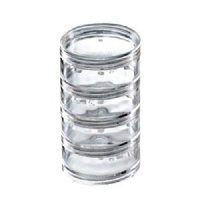 Japonesque 4 Clear Stackable Jars