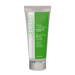 Cane And Austin Prime & Protect Mattifying Primer with Broad Spectrum SPF 50, 43g/1.5 oz
