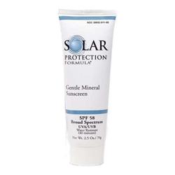 TiZO Solar Protection Formula SPF 58 (Gentle Mineral Sunscreen 50+), 70g/2.5 oz