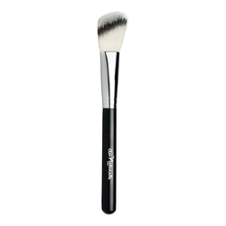 Au Naturale Cosmetics Angled Blush Brush, 1 pieces