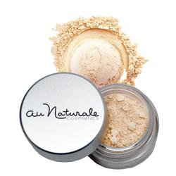 Au Naturale Cosmetics Powder Concealer - Flax, 3.7g/0.1 oz