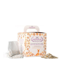 Postpartum Bath Herbs | 6 Herbal Pouches