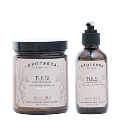 APOTERRA Tulsi Organic Body Care Set, 1 sets