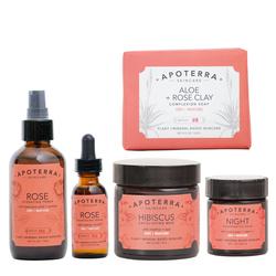 APOTERRA Facial Kit - Dry Skin Remedy, 1 sets