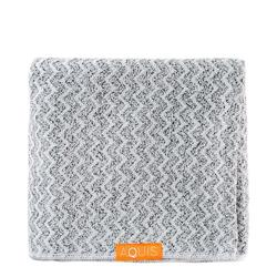 AQUIS Lisse Luxe Hair Towel - Chevron, 1 pieces