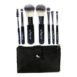 Au Naturale Cosmetics Travel Brush Collection, 1 sets