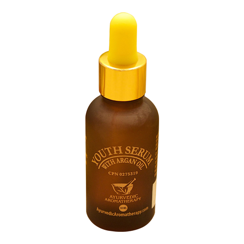 Ayurvedic Aromatherapy Youth Serum with Argan Oil, 30ml/0.5 fl oz