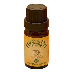 Ayurvedic Aromatherapy Cold & Flu Blend, 12ml/0.4 fl oz