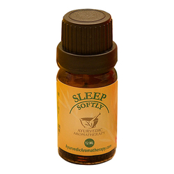 Ayurvedic Aromatherapy Sleep Softly, 12ml/0.4 fl oz