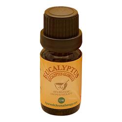 Ayurvedic Aromatherapy Eucalyptus Essential Oil, 12ml/0.4 fl oz