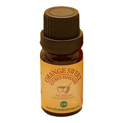 Ayurvedic Aromatherapy Orange Sweet Essential Oil, 12ml/0.4 fl oz