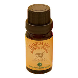 Ayurvedic Aromatherapy Rosemary Essential Oil, 12ml/0.4 fl oz