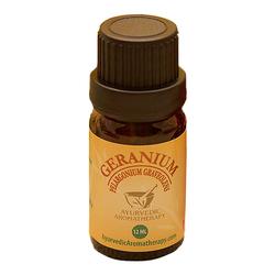 Ayurvedic Aromatherapy Geranium Essential Oil, 12ml/0.4 fl oz