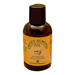 Ayurvedic Aromatherapy Sweet Almond Oil, 120ml/4.1 fl oz