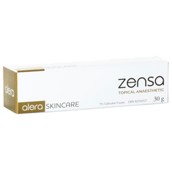 alera SKINCARE Zensa Topical Anaesthetic, 30g/1 oz