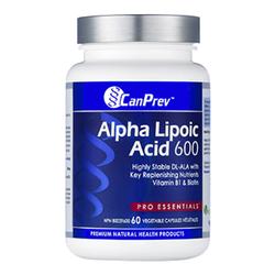 CanPrev Alpha Lipoic Acid 600 mg | 60 V-Caps, 1 pieces