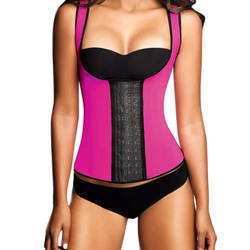 Ann Chery Fajas Chaleco 3 Hooks  2022 in Pink - 2XL | 40Size, 1 pieces