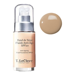 T LeClerc Anti-Ageing Fluid Foundation SPF 20 03 - Beige Sable Satine, 30ml/1 fl oz