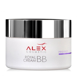Alex Cosmetics Royal BB Cream Jar, 50ml/1.7 fl oz