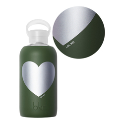 bkr Water Bottle - Cash Text Heart | Little (500ML), 1 pieces
