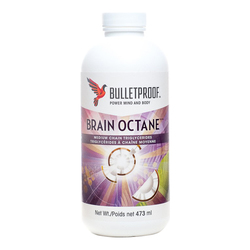 Bulletproof  Brain Octane Oil, 473ml/16 fl oz