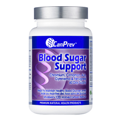 CanPrev Blood Sugar Support, 120 capsules