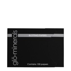 gloMinerals Blotting Papers, 10 x 100 sheets