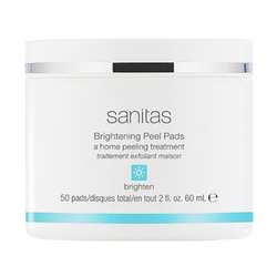 Sanitas Brightening Peel Pads, 50 sheets