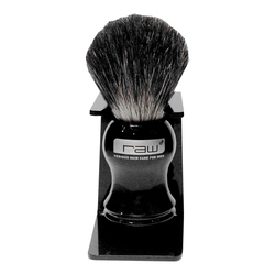 Rhonda Allison Badger Hair Shaving Brush and Stand, 1 piece