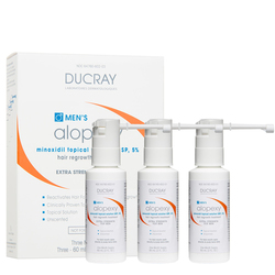 Ducray Hair Regrowth Treatment MTS 5% (For Men), 3 x 60ml/2 fl oz