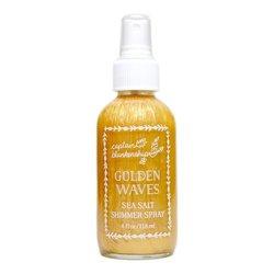 Captain Blankenship Golden Waves Sea Salt Shimmer Spray, 118ml/4 fl oz