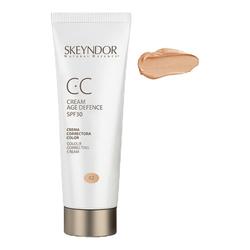 Skeyndor CC Cream Age Defense SPF30 - Dark Skin, 40ml/1.4 fl oz