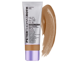 Peter Thomas Roth Skin To Die For  Mineral-Matte CC Cream Broad Spectrum SPF 30 - Medium, 30ml/1 fl oz