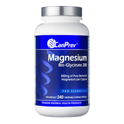 CanPrev Magnesium BisGlycinate 200 | 240 V-Caps, 1 pieces