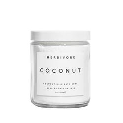 Herbivore Botanicals Coconut Bath Soak, 226g/8 oz