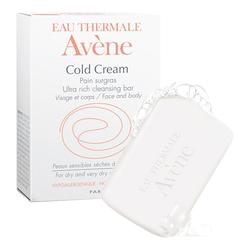 Avene Cold Cream Ultra-Rich Cleansing Bar, 100g/3.52 oz.