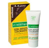 JF Lazartigue Color Reflecting Hair Conditioner - Chestnut - 100mL, 3.4 oz