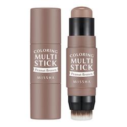MISSHA Coloring Multi Stick BR02 | Peanut Brown, 7.1g/0.3 oz
