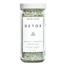 Herbivore Botanicals Detox Blue Clay + Eucalyptus Soaking Salt, 227g/8 oz
