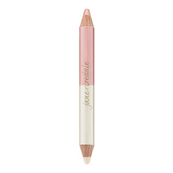 Double Ended Highligher Pencil - Pink/White