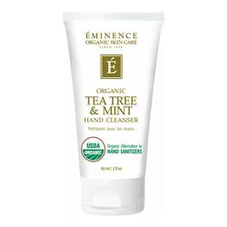 Eminence Organics Tea Tree & Mint Hand Cleanser, 60ml/2 fl oz