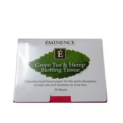 Eminence Organics Green Tea and Hemp Blotting Tissue (30 Sheets), 1 pieces