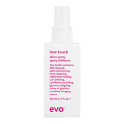 Evo Love Touch Shine Spray, 100ml/3.4 fl oz
