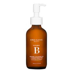 One Love Organics Vitamin B Enzyme Cleansing Oil, 120ml/4 fl oz