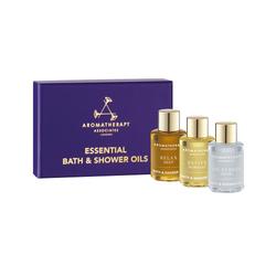 Aromatherapy Associates Essentials Relax, De-stress, Revive Set, 3 x 7.5ml/1 fl oz