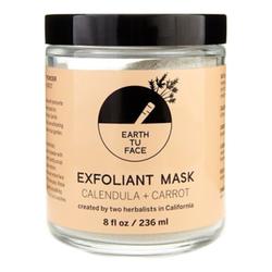 Earth tu Face Exfoliant Mask, 236ml/8 fl oz